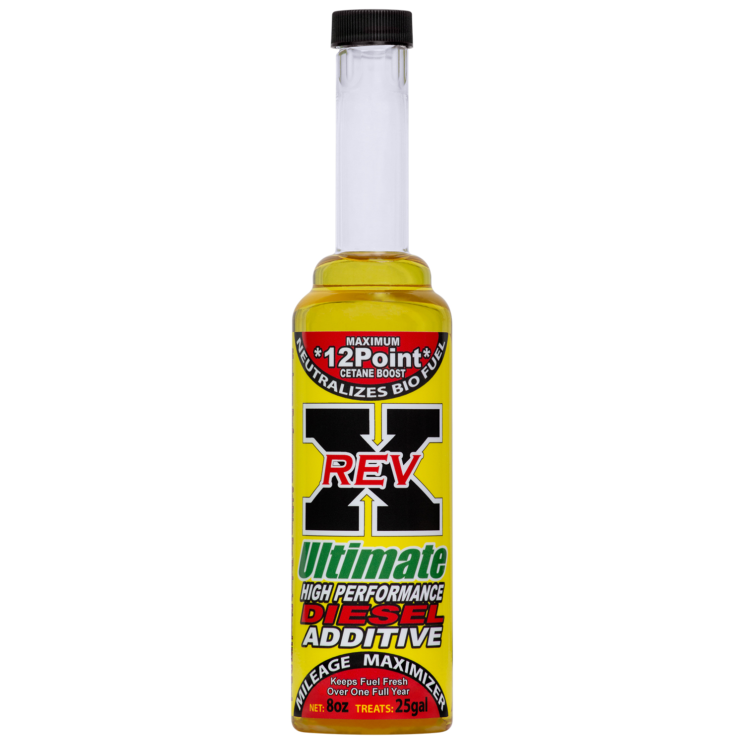Details about REV-X Ultimate Diesel Fuel Treatment - Treats 25 Gallons -  ULSD/BioDiesel (12)