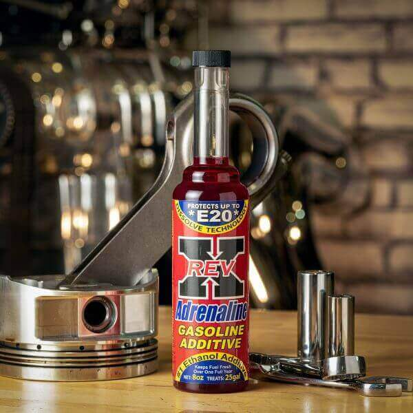 ADG0801 - REV X Adrenaline Gasoline Treatment - 8 fl. oz.