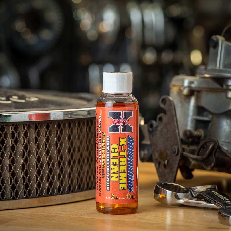 ADX0201 - REV X Adrenaline Xtreme Clean Gasoline Additive - 2 fl. oz.