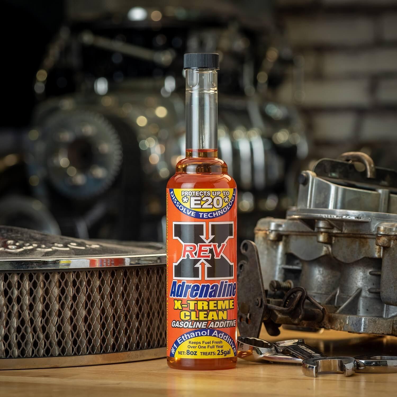 ADX0201 - REV X Adrenaline Xtreme Clean Gasoline Additive - 8 fl. oz.