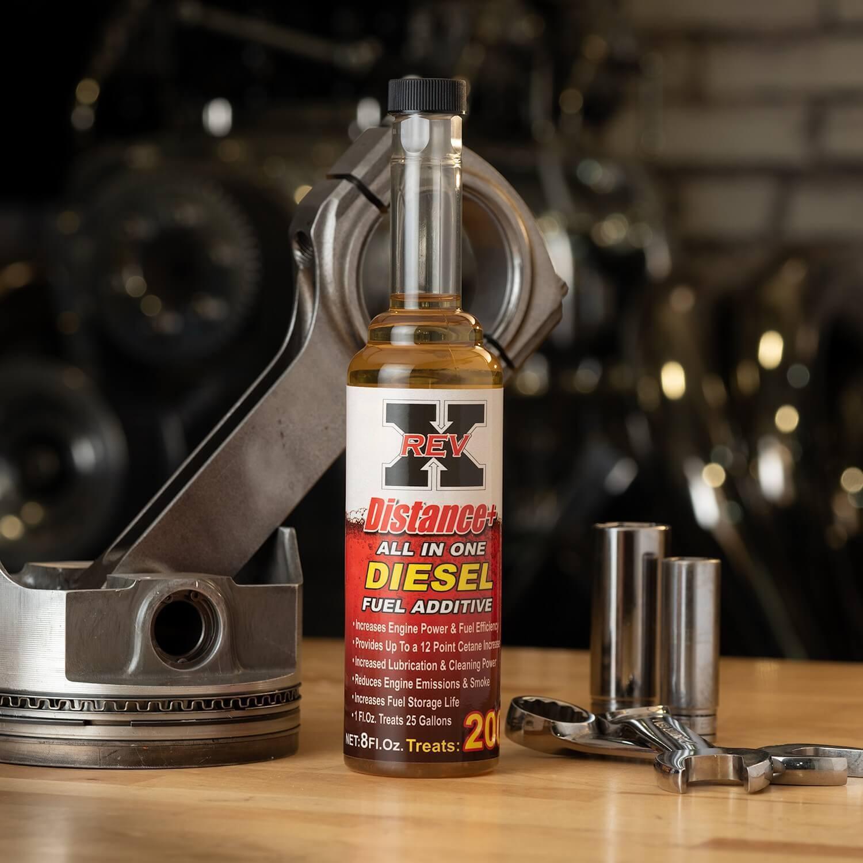 DIS0801-REV-X-Diesel Fuel Additive-8 fl. oz.