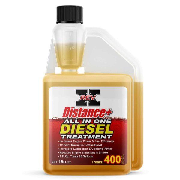 DIS1601 - REV X Distance+ Diesel Treatment - 16 fl. oz.
