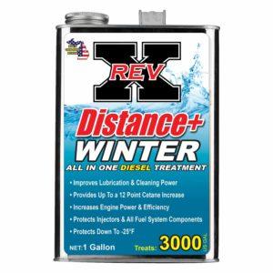 DISW01G01 - REV X Distance+ Winter Diesel Additive- 1 Gallon
