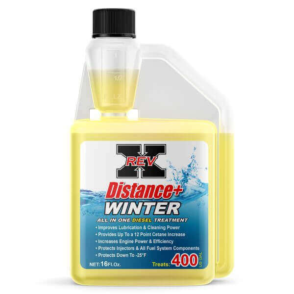 DISW1601 - REV X Distance+ Winter Diesel Treatment - 16 fl. oz.