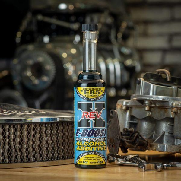 EBO0801 - REV X E85 Ethanol Alcohol Fuel Additive - 8 fl. oz.