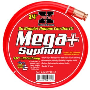 MSO7507-R -REV X - SYPHON HOSE-RED