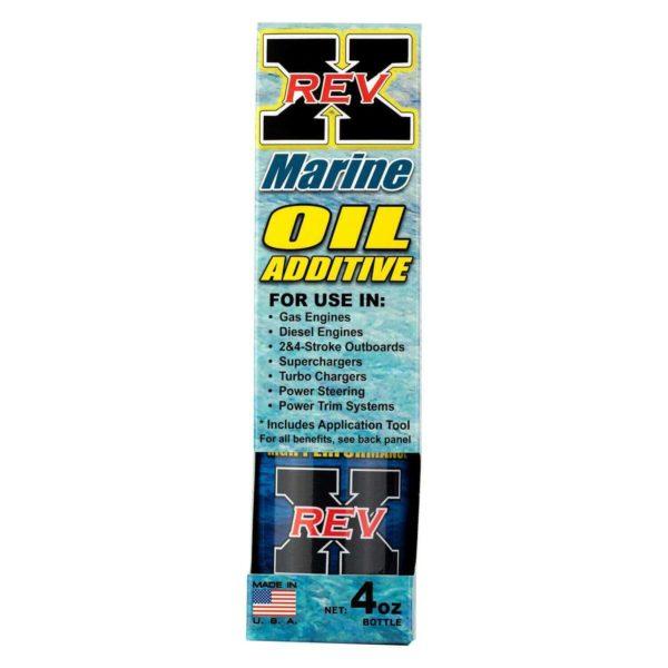 REV0401BM - REV X - Marine Oil Treatment - 4oz.